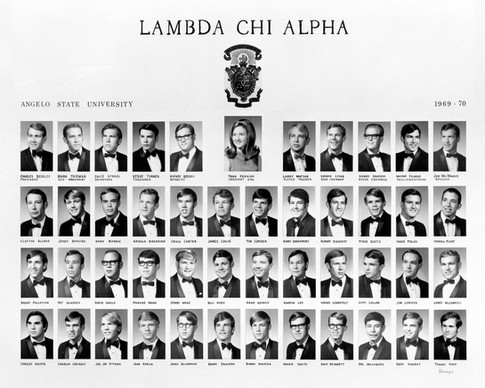 LAMBDA CHI ALPHA 1969-70