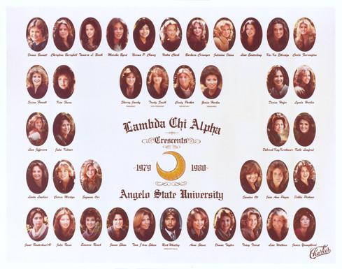 Lambda Chi Alpha Crescents 1979-80