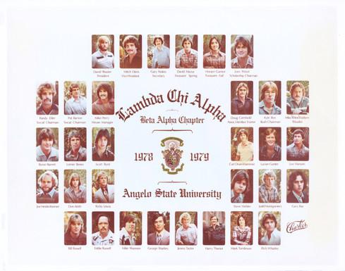 LAMBDA CHI ALPHA 1978-79