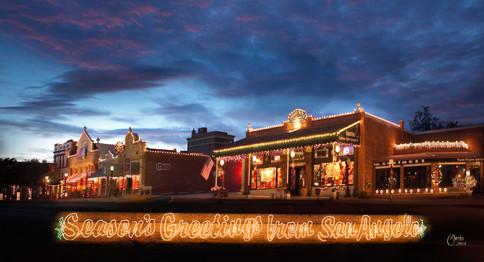 SAN ANGELO CONCHO STREET CHRISTMAS