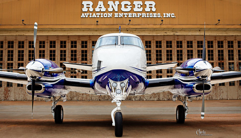 RANGER AVIATION KING AIR and HANGAR