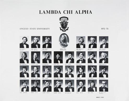 LAMBDA CHI ALPHA1972-73