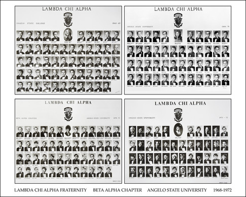 LAMBDA CHI ALPHA 1968-72 COMP-8x10