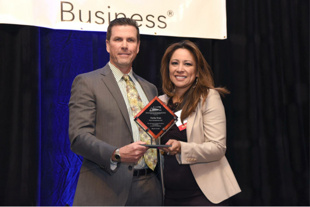 ORANGE COUNTY BUSINESS JOURNAL NAMES TWILA TRUE ENTREPRENEUR OF THE YEAR