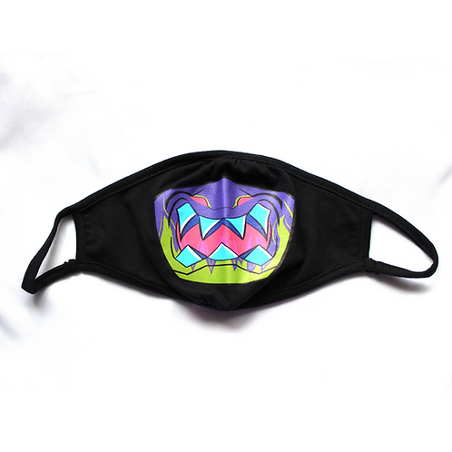 Limited Edition: Dragon Demon Mask - Wrap Around