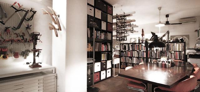 Gandds studio interior
