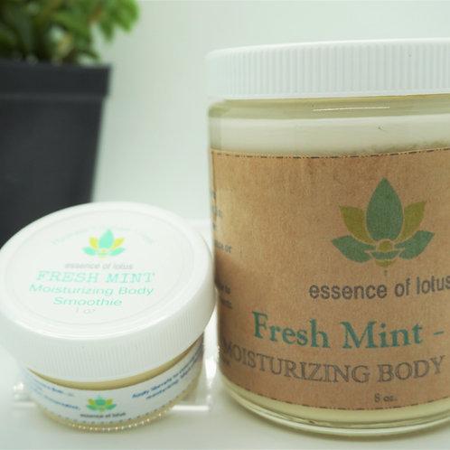 Fresh Mint Moisturizing Body Smoothie