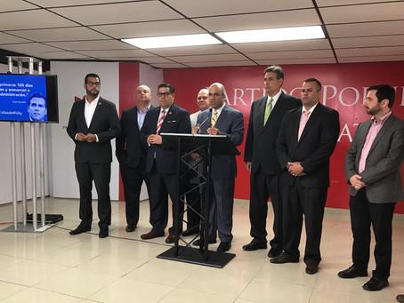 Populares aseguran que Ricardo Rosselló y la Junta de Control Fiscal son cómplices en contra del pue