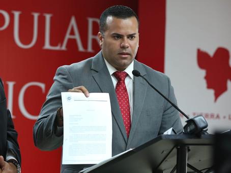 Arremeten contra Secretario del DRD por fondos del COPUR