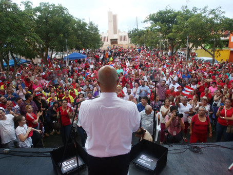 Mensaje de Héctor Ferrer en la conmemoración del 65 Aniversario del ELA en Morovis