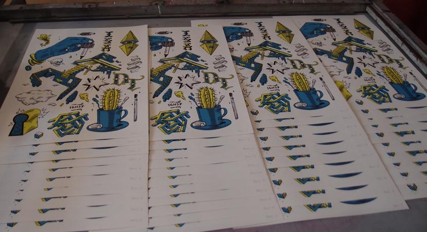 Sérigraphies - Linogravures