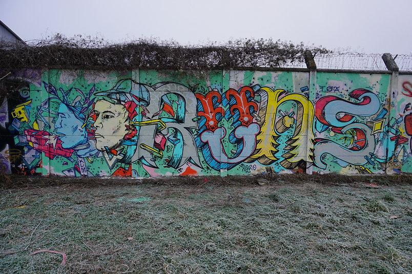 Runs Street art Graffiti Nancy