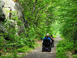 Northern Rail Trail at Potter Place - Andover, NH