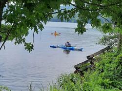 Kayaking with NEHSA on Lake Mascoma
