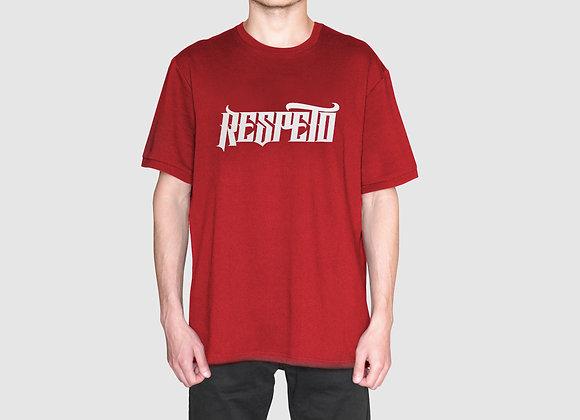 RESPETO Red White Shirt