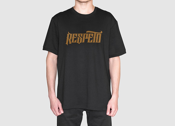 RESPETO Black Gold Shirt