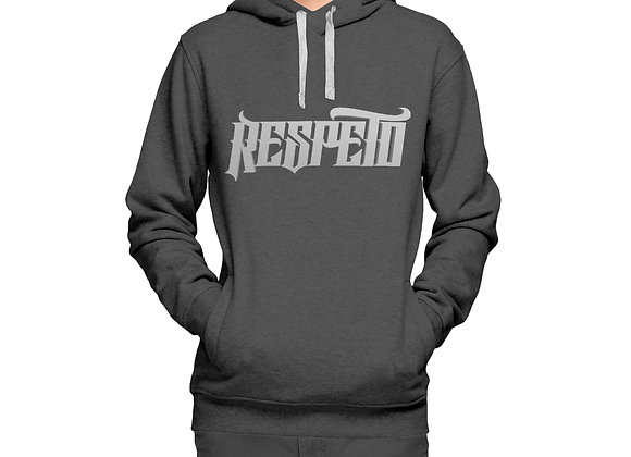 RESPETO Grey SIlver Hoodie