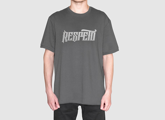 RESPETO Grey SIlver Shirt