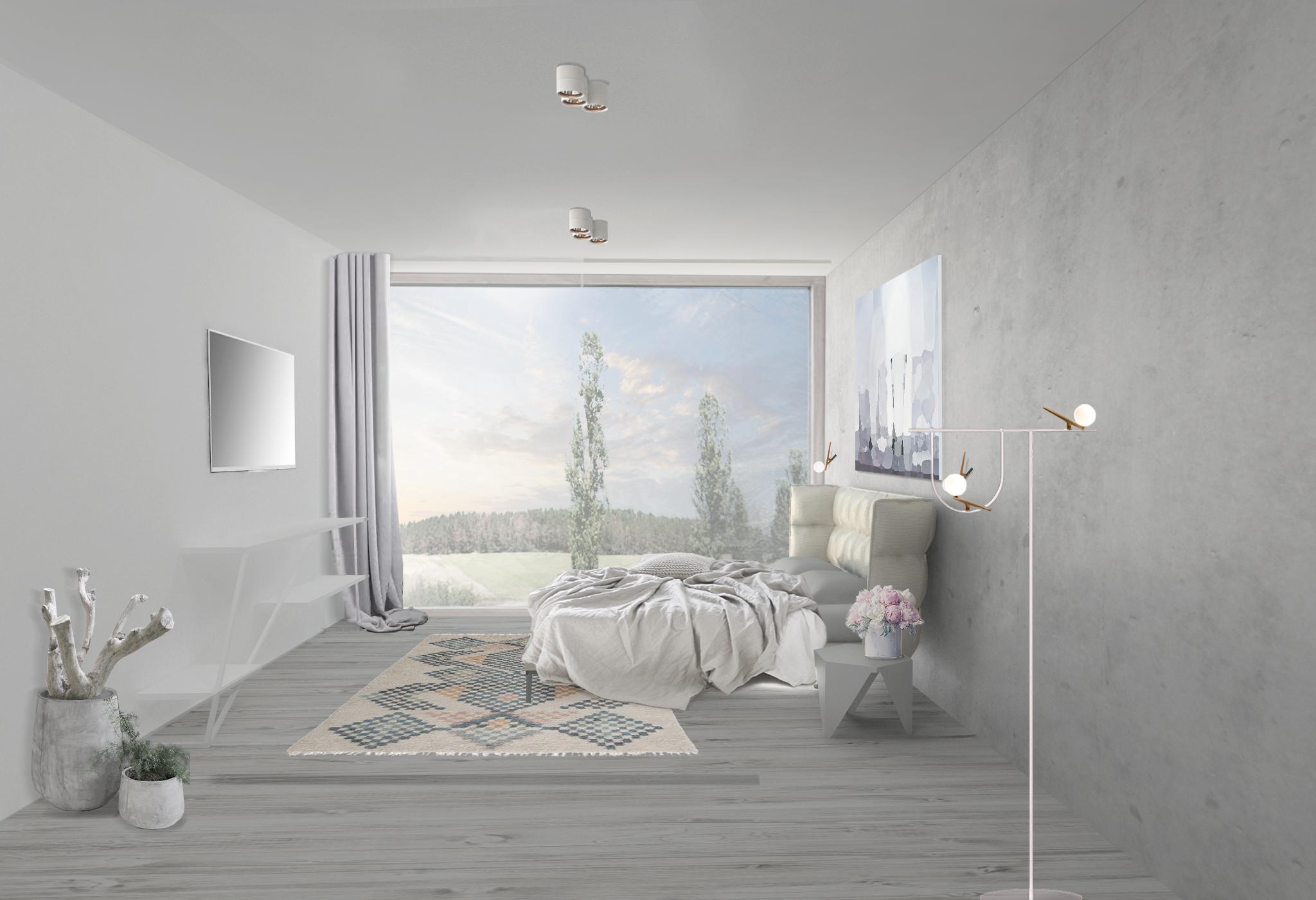 Interiér hlavní ložnice