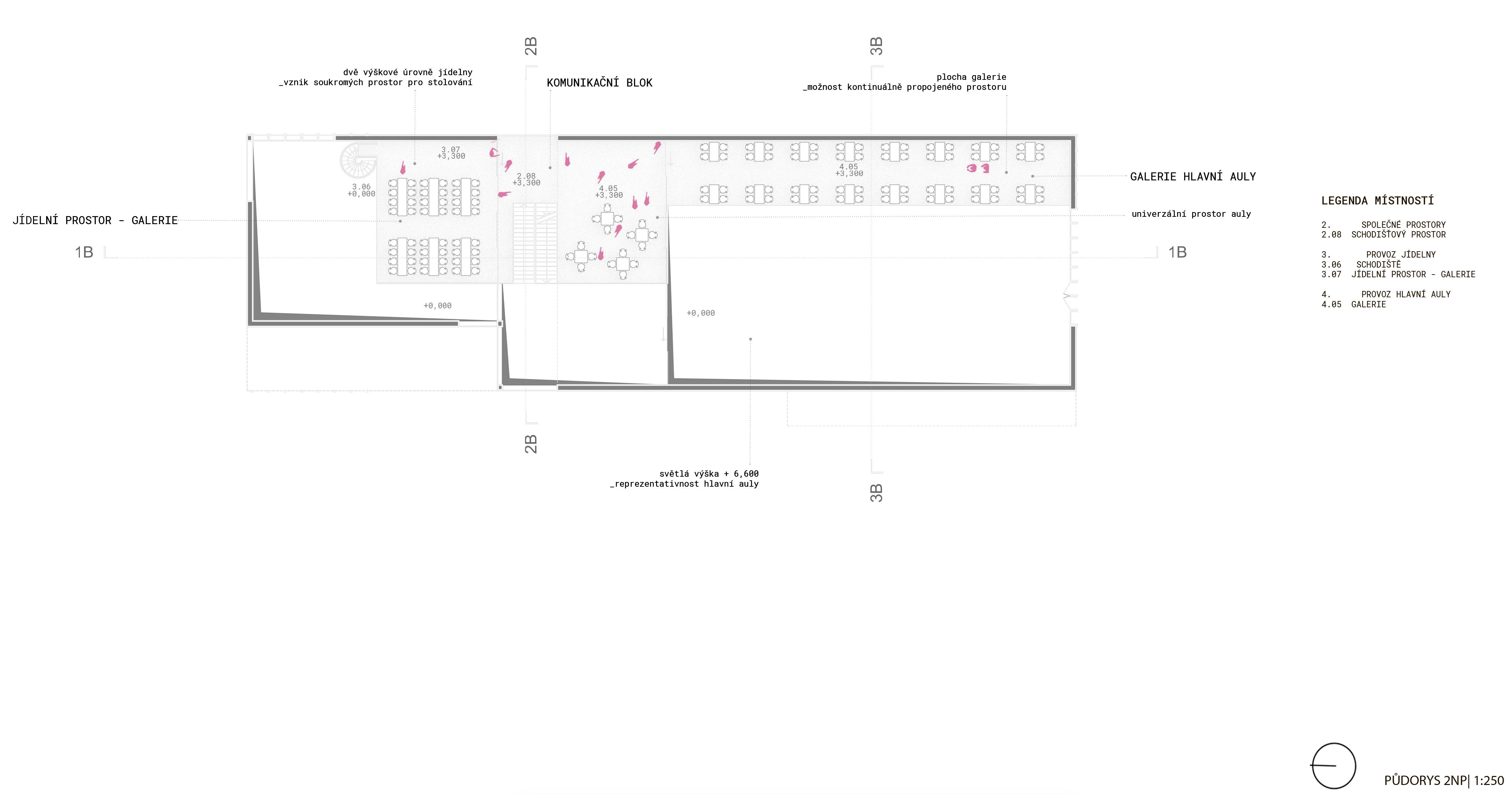 Floor plan - 2nd - new building