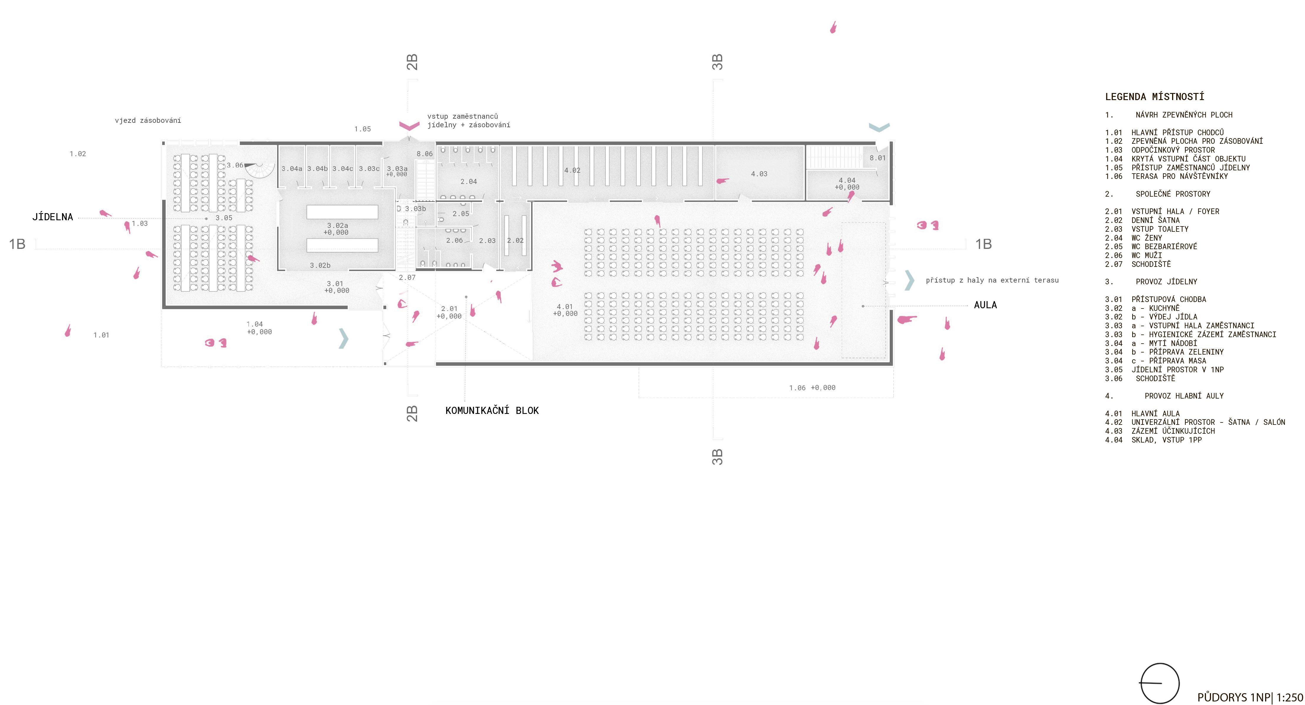 Floor plan - 1st- new building