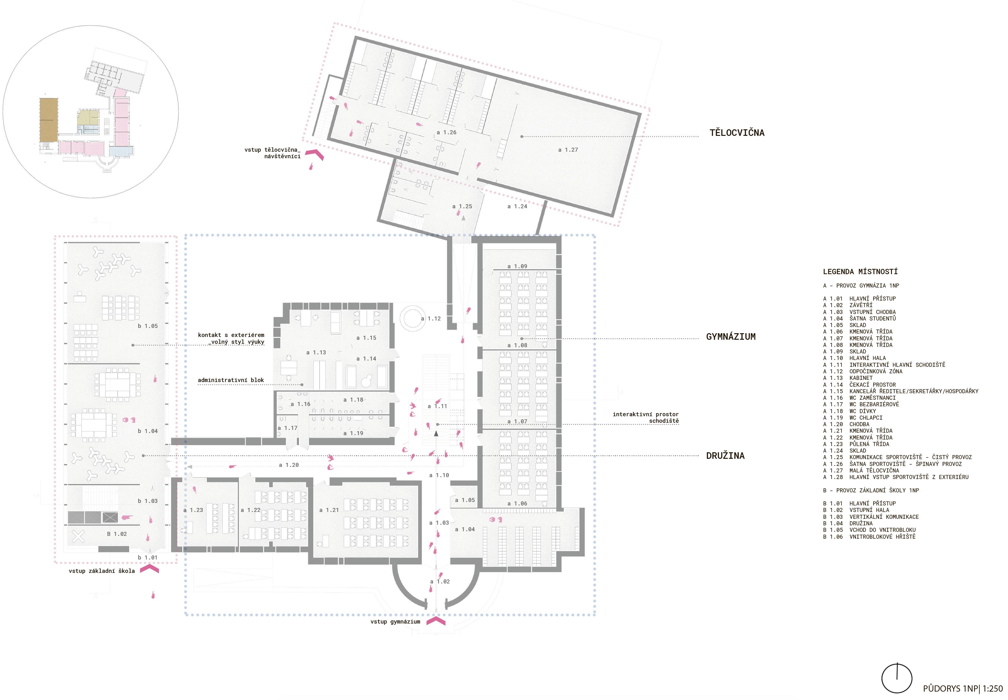 Floor plan - 1st - new wing