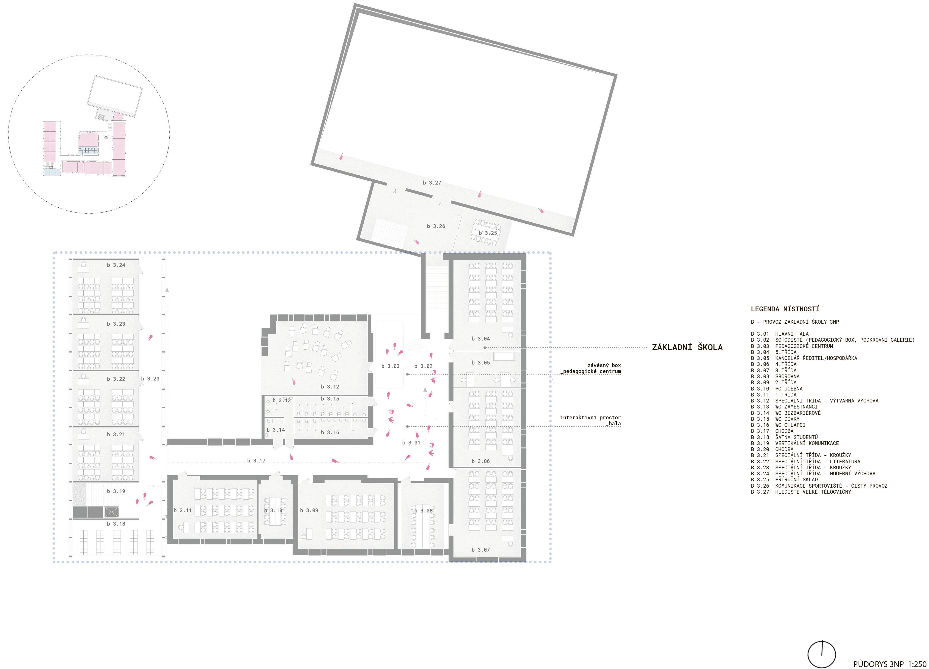 Floor plan - 2nd - new wing
