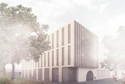 Nové křídlo stávající budovy