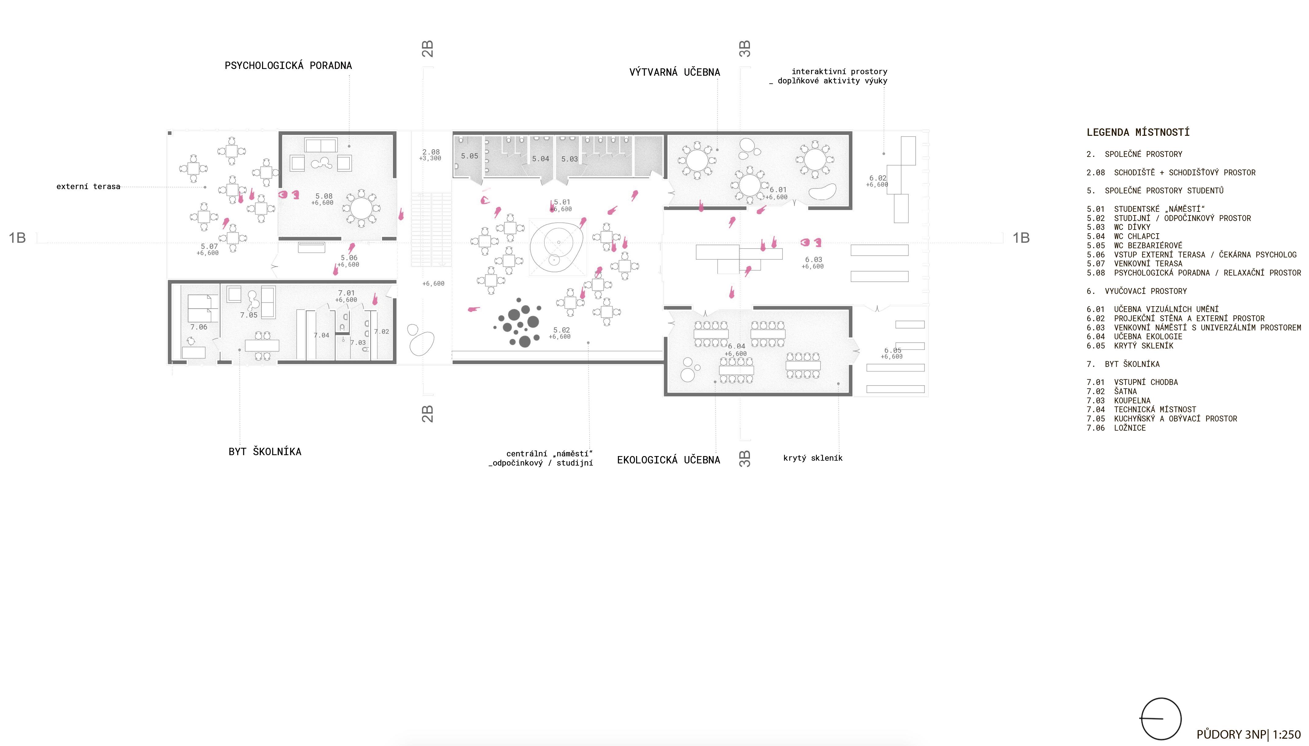 Floor plan - 3rd - new building