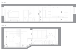 Section plans - new building
