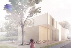 Nová budova školy