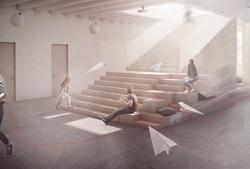 Hlavní víceúčelové schodiště
