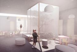 Potkávací prostory - nová budova