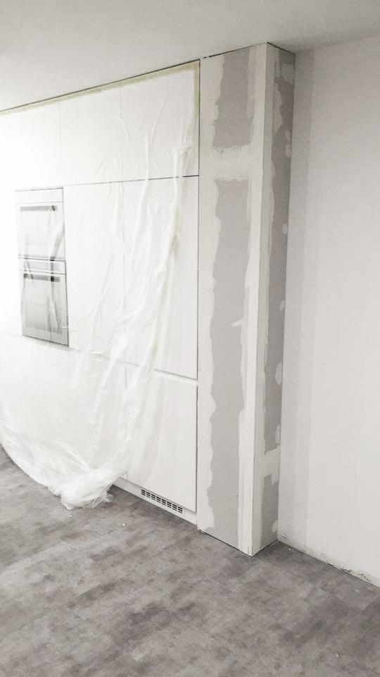Detail kuchyňské stěny