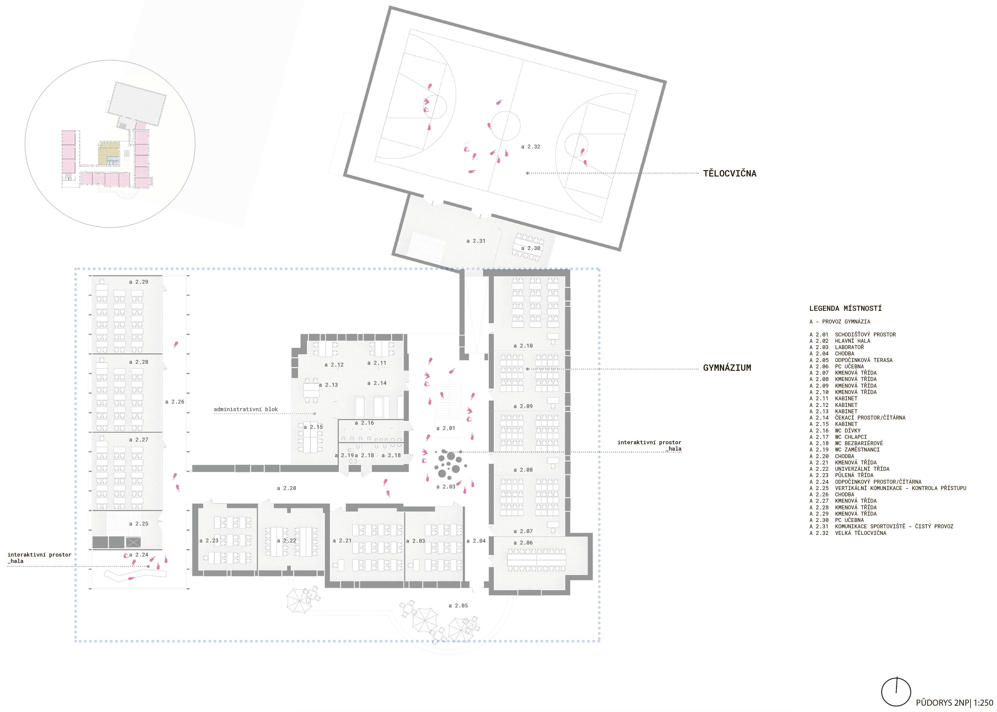 Floor plan - 3rd - new wing