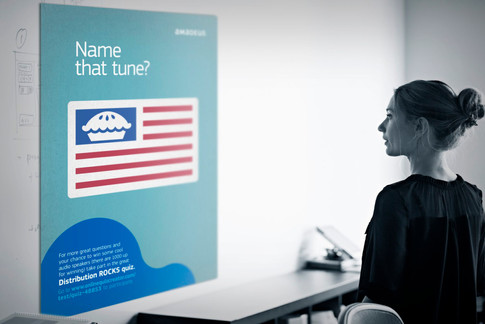 Internal comms campaign for Amadeus