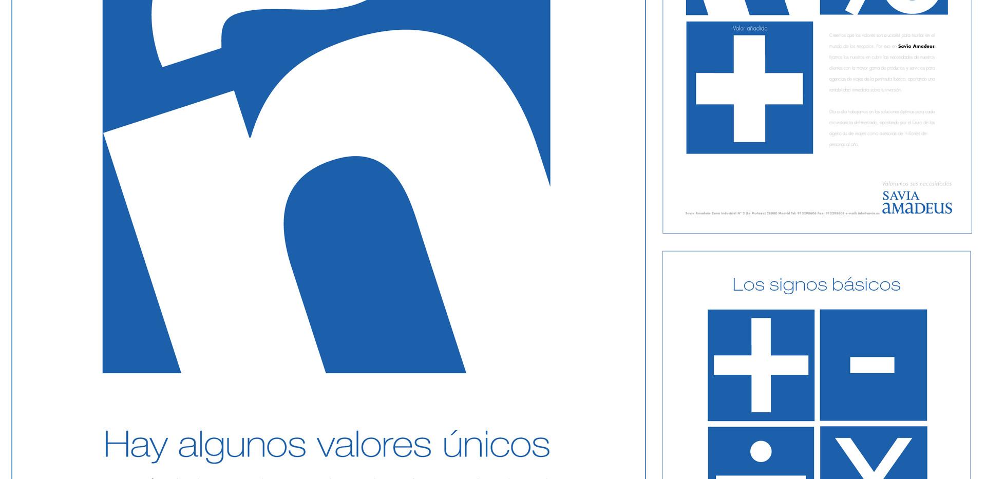 Press Ad Campaign for Savia Amadeus