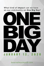 One Big Day