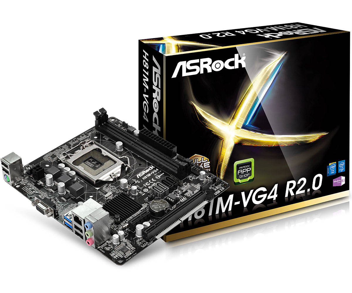 Asrock H81M-VG4 R2.0 (L1) Intel