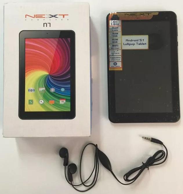 Tablet Next N7 Accesorios