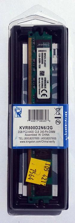 Kingston DDR2 Ref KVR800D2N6-2G