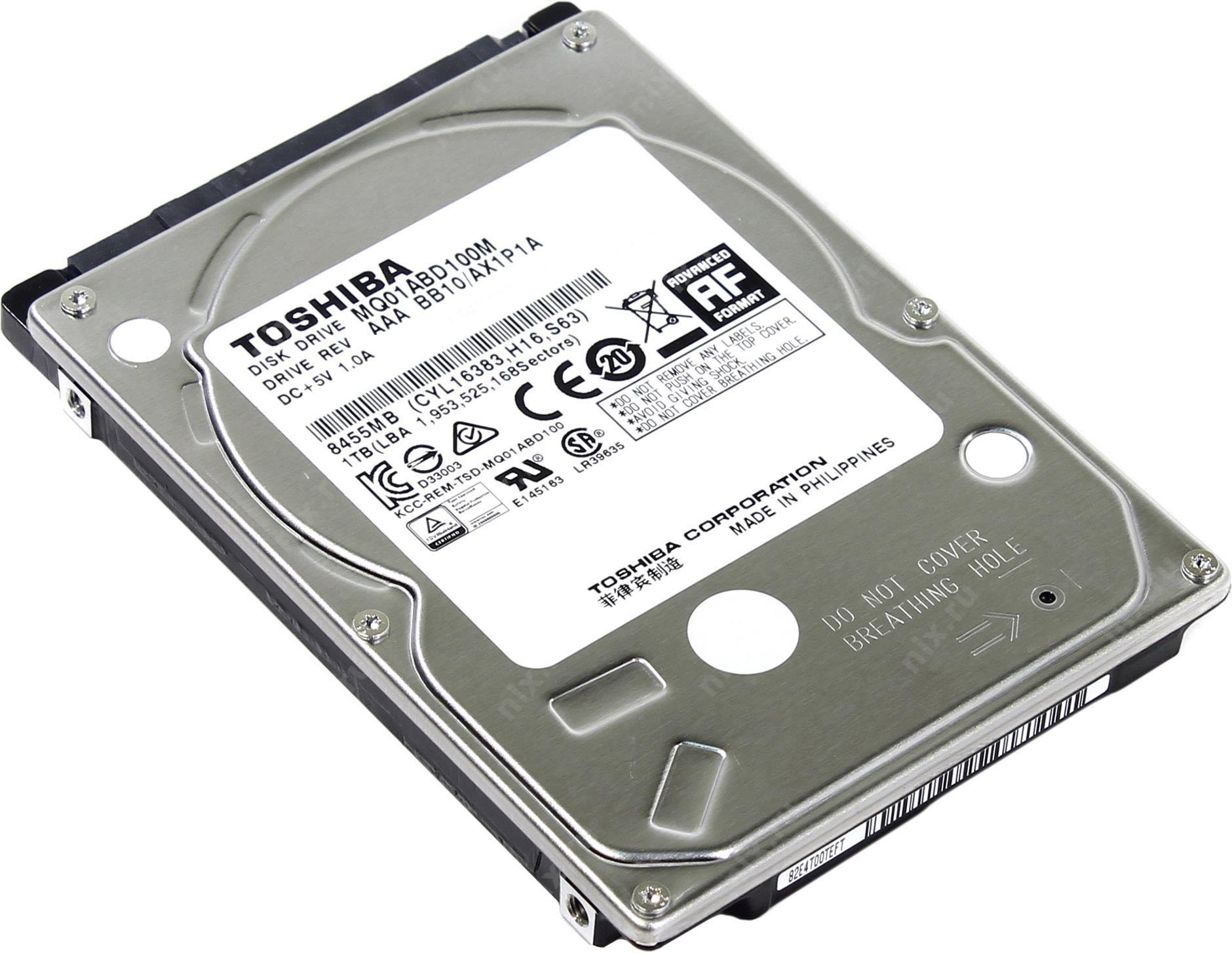 Toshiba 1TB Portatil Ref MQ01ABD100M