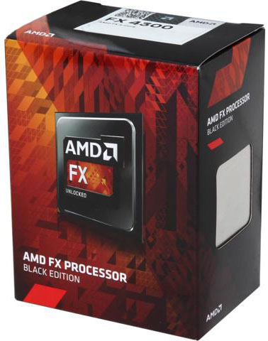 Amd fx 4300 processor black edition