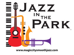 Jazz in the Park Logo - web address
