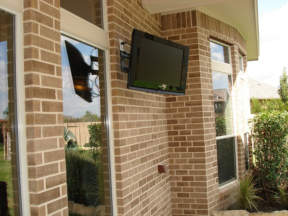 Exceptional Patio TV Installations