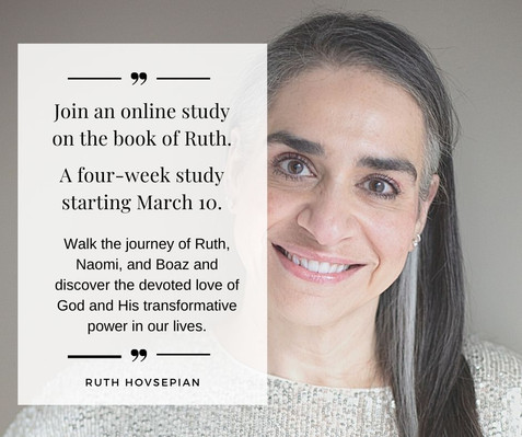 Online Bible study on the book of Ruth
