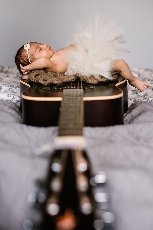 Chicago lifestyle newborn session