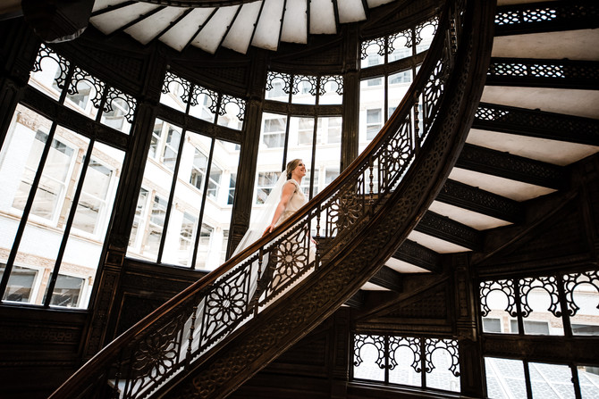 Kelly and Steve | The Rookery Chicago Wedding