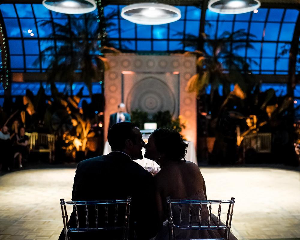 Garfield Park Conservatory wedding