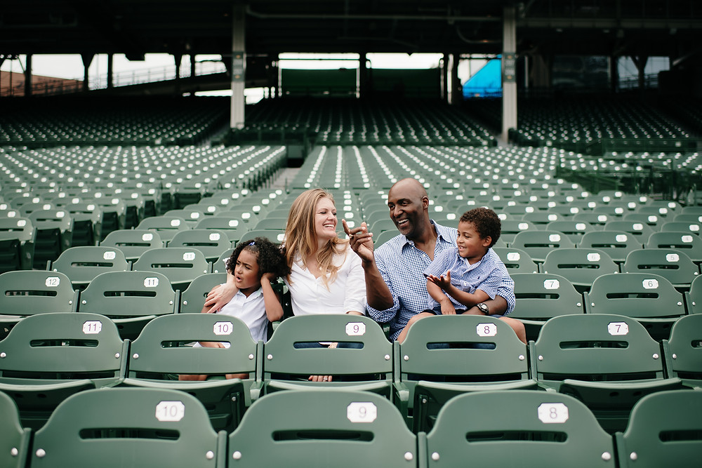 Wrigley field family session
